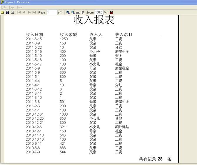 毕业论文课程设计源码实例-DELP002家庭财务管理系统截图